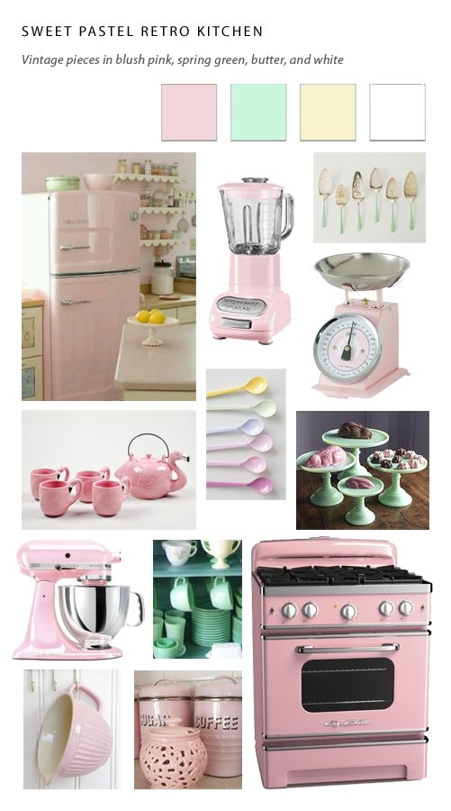 colored small kitchen appliances retro kitchens gocabinets cabinetry ordering 5565