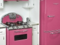 Retro kitchen oven & fridge