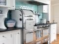 Retro kitchen oven