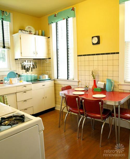 Retro Kitchens - GoCabinets