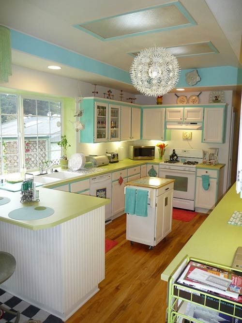 Retro Kitchens - GoCabinets