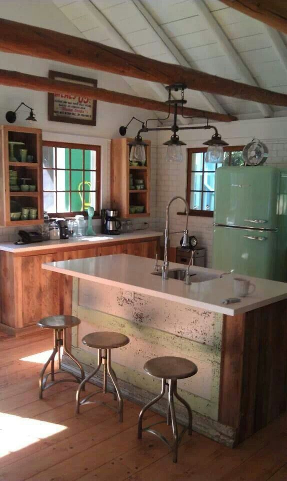 Interior Design Ideas Gallery: Retro Kitchens - GoCabinets