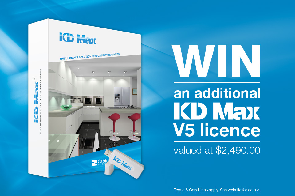 KD Max product photo, WIN an additional V5 licence