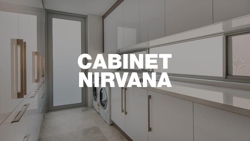 goCabinets Cabinet Nirvana Laundry