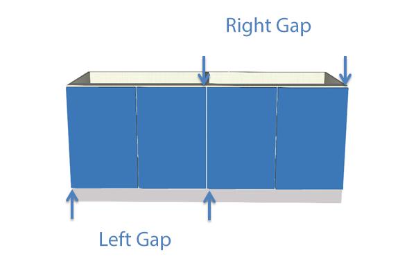 Left Right Gap