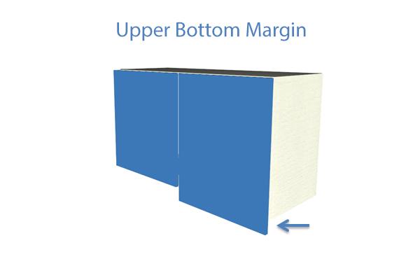 Upper bottom margin