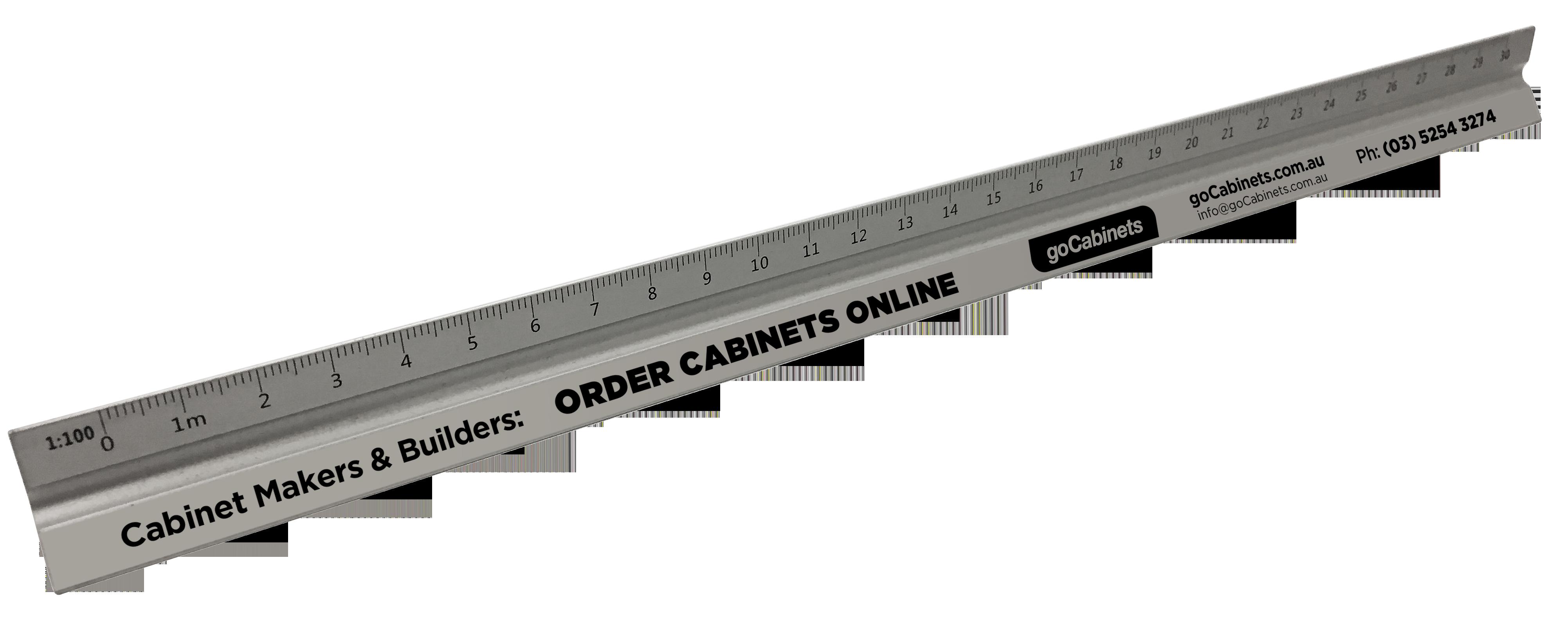 goCabinets ruler