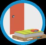 pallette at door graphic