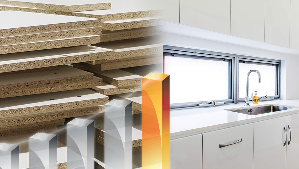 kitchen and wood palettes