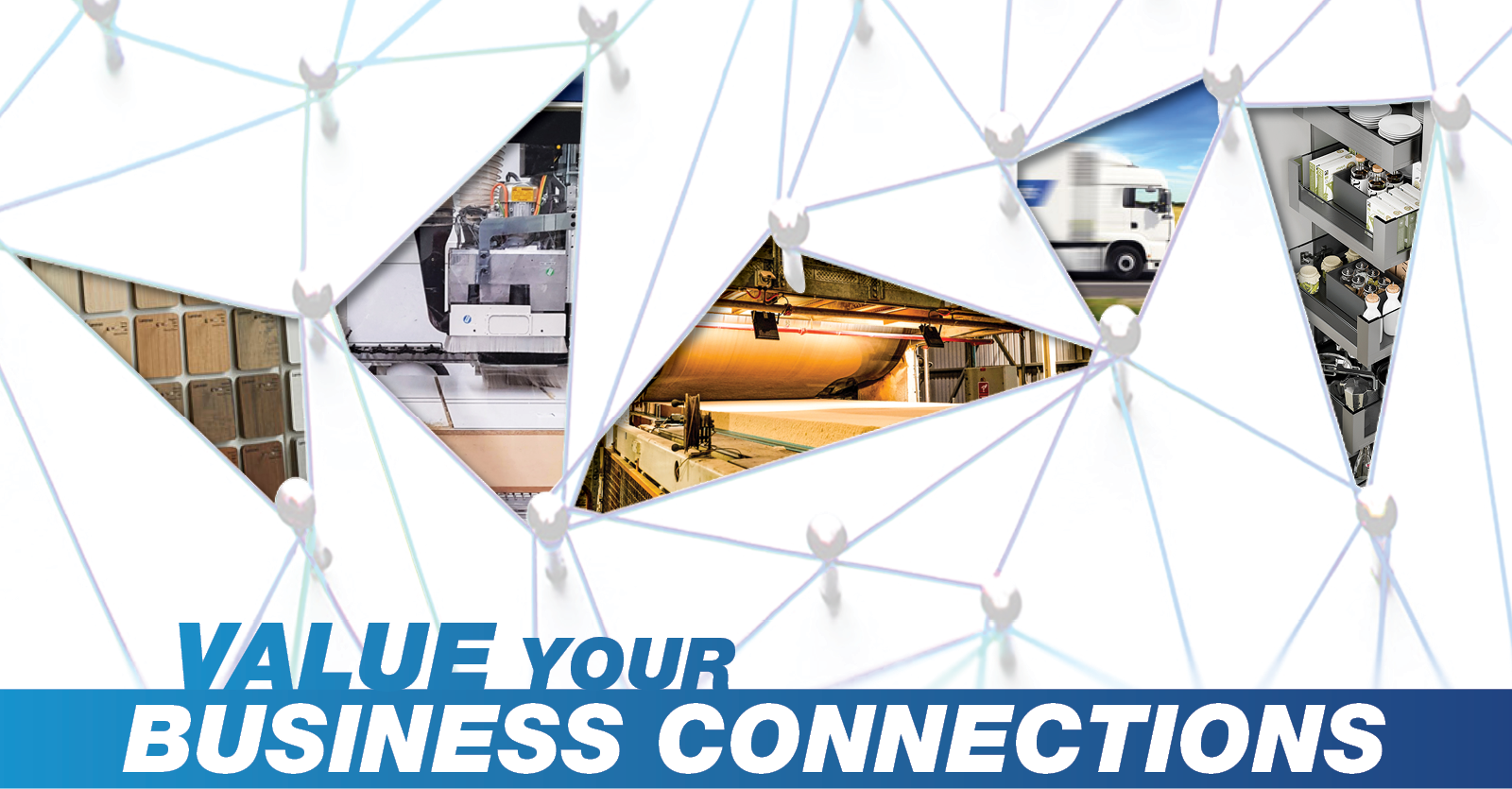 value your business connections with 5 images